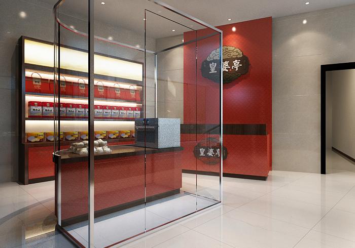 皇婆亭/店面展示设计/杭州包装设计/杭州圣海包装艺术设计有限公司