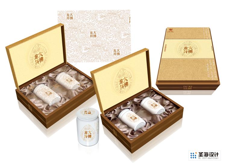 大佛龙井/茶叶包装设计/茶叶礼盒/杭州包装设计/杭州圣海包装艺术设计有限公司
