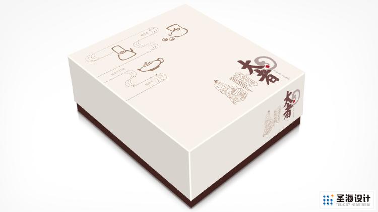 大者茶品牌設計/紅茶茶葉禮盒包裝/杭州包裝設計/杭州圣海包裝藝術設計有限公司