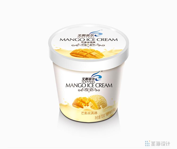 香港艾斯菲尔/冰淇淋包装设计/香港甜点冰淇淋/杭州包装设计/杭州圣海包装艺术设计有限公司