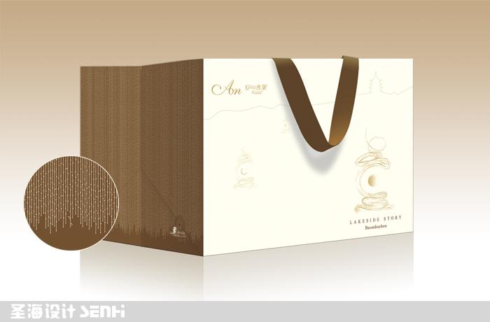 安の秀菓/年輪蛋糕包裝禮盒/杭州包裝設計/杭州圣海包裝藝術設計有限公司