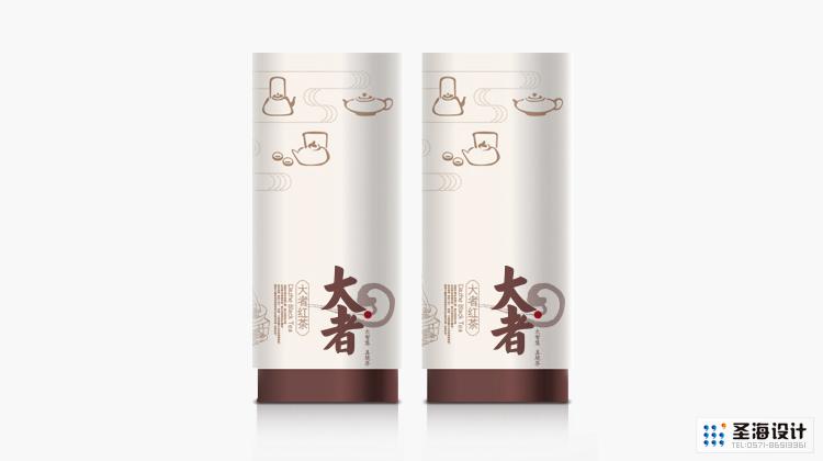 大者茶品牌設計/紅茶茶葉罐設計/杭州包裝設計/杭州圣海包裝藝術設計有限公司