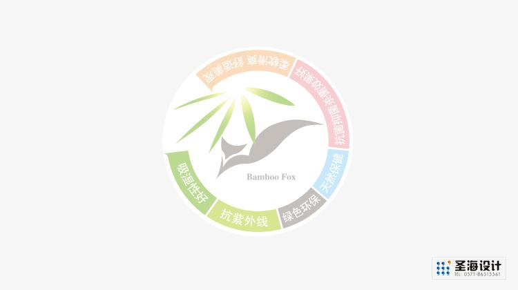 竹狐品牌設計/竹狐紡織品包裝/竹纖維毛巾/杭州包裝設計/杭州圣海包裝藝術設計有限公司