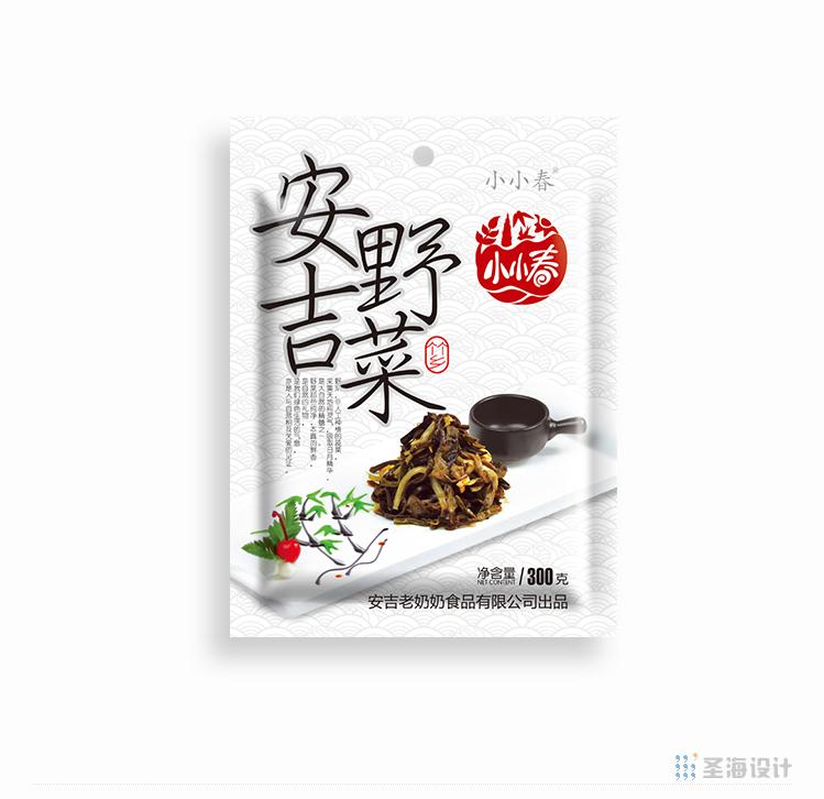 安吉老奶奶食品,小小春,安吉野菜,安吉筍片,安吉香筍