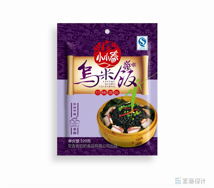 小小春烏米飯/安吉特產/杭州包裝設計/圣海包裝設計