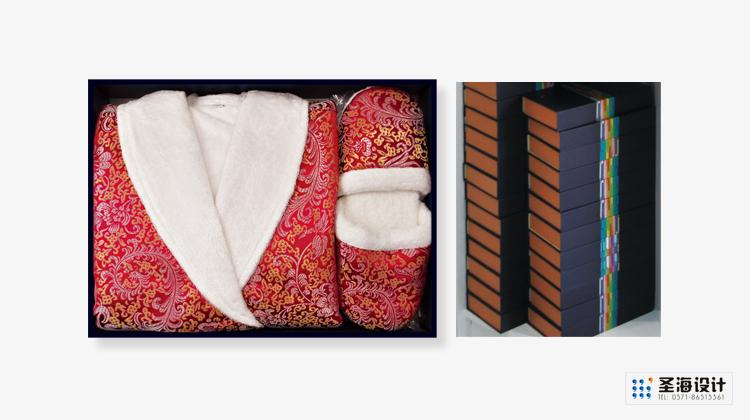 竹狐紡織品包裝/竹纖維生態紡織品精裝禮盒/杭州包裝設計/杭州圣海包裝藝術設計有限公司