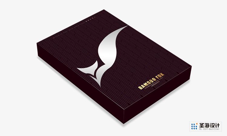 竹狐紡織品包裝/襪子/竹纖維/杭州包裝設計/杭州圣海包裝藝術設計有限公司