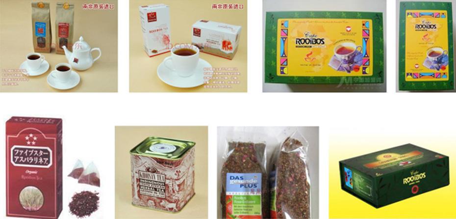 南非印象|路易波士茶中国市场|杭州包装设计有限公司|进口茶叶包装|出口茶叶包装设计