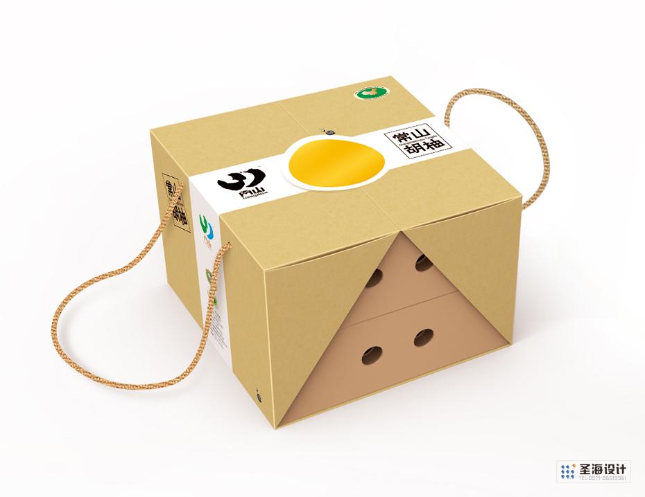 常山胡柚包装设计|香榧|两山农副产品特产(绿水千山就是金山银山)品牌标志logo设计|中国竹乡安吉|杭州包装设计有限公司
