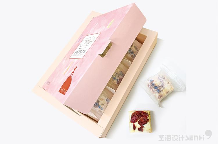 原味雪花酥 杭州品牌 杭州圣海包装艺术设计 包装设计 杭州包装设计