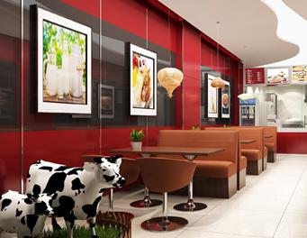 草源牧业牛排鲜奶连锁店